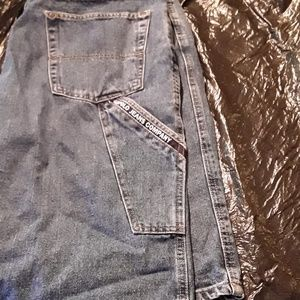 Men's Designer Jean shorts size 36. Very good con.